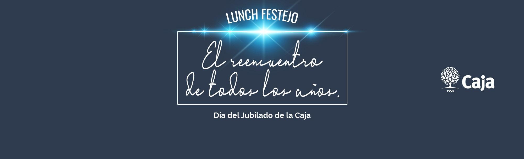 Lunch festejo Día del Jubilado