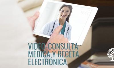 Video-consulta médica y receta electrónica